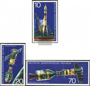 DDR-2083-2085-kompl-Ausgabe-gestempelt-1975-Sojus-Apollo