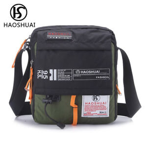 Image is loading Men-Leisure-Travel-Shoulder-Messenger-Bag-Women-Fashion- dc4f6277d7d71