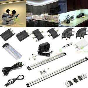 zubeh r f r lichtleiste led smd unterbauleuchte k chenlampe m belleuchte schrank. Black Bedroom Furniture Sets. Home Design Ideas