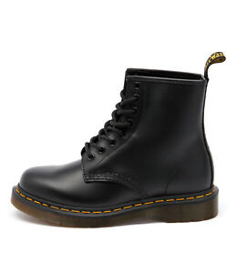 New-Dr-Marten-1460-8-Eye-Boot-Black-Womens-Shoes-Casual-Boots-Ankle