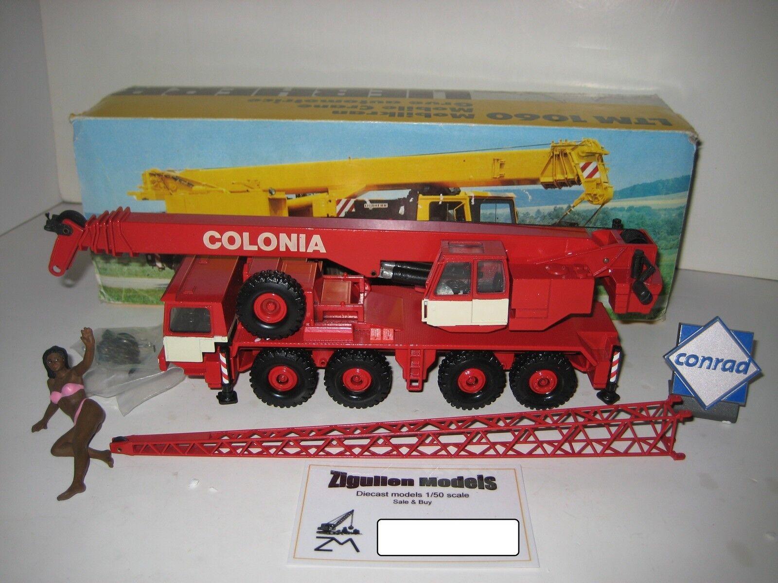 Más asequible Liebherr Liebherr Liebherr LTM 1060 autokran colonia  2079 Conrad 1 50 OVP  a precios asequibles