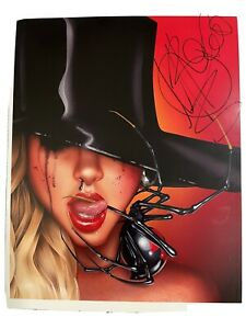 MARIA BRINK IN THIS MOMENT SIGNED 8x10 photo autographed Rare