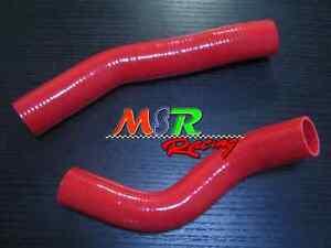 for-TOYOTA-LANDCRUISER-HZJ80-1HZ-silicone-radiator-hose-kit-brand-new-RED