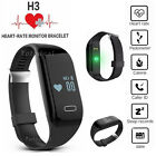 Heart Rate Monitor Smart Watch Pedometer Wristband Bracelet Waterproof Lot Hot