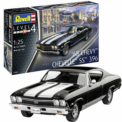 Revell 1968 Chevy Chevell SS 396 in 1:24 Revell 07662  .