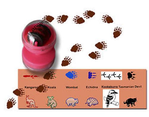 NEW Australian Animal Stampers Set of 6 - Stamps Stamp Set - Kids Craft
