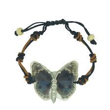 Real Eyed Pansy Butterfly Bracelet