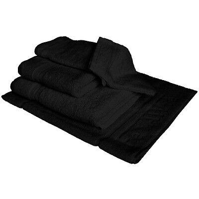 Handtuch Set schwarz der FelAWie ForMat Serie zum selbst erstellen