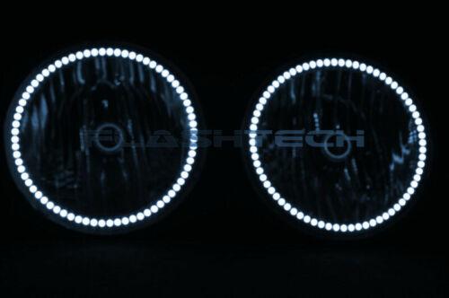 for Hummer H3 06-10 White RF LED Halo kit for Headlights