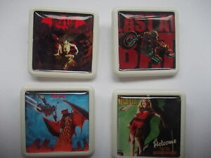 4-MEATLOAF-ALBUM-COVER-BADGES-PINS-FREE-POSTAGE-IN-THE-UK