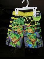 Vacation Time?? - Teenage Mutant Ninja Turtles Swim Trunks Boys Size 3t C
