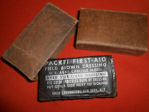 U-S-ARMY-WW2-War-X-1-Dressing-Bandage-For-US-First-Aid-Medic-Bag-Pouch