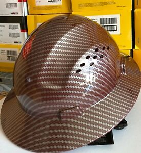 HDPE-Hydro-Dipped-Red-Full-Brim-Hard-Hat-with-Fas-trac-Suspension