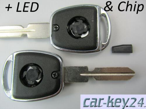 Mercedes A C E G Klasse W168 W202 W210 Schlüssel Transponder Chip 1995-2004
