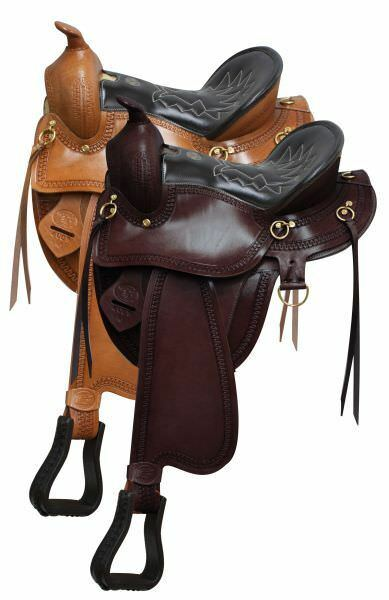 Gaited  Horse Saddle 2 colors Available 16  or 17  NEW  fitness retailer
