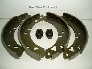 182-100-181-760-MG-MGB-REAR-BRAKE-SHOES-amp-H-BRAKE-LEVER-BOOTS-FITS-ALL-MGB-039-S