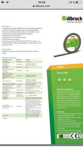 Mousse TP600 Illmod 600 Illbruck 25//10-22
