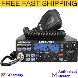 Newest-PRESIDENT-LINCOLN-II-PLUS-Digital-AM-FM-CW-SSB-10-12m-Ham-RADIO-50-Watt