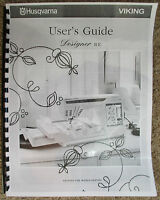Husqvarna Viking Designer Se Owners Users Guide Instruction Manual Book
