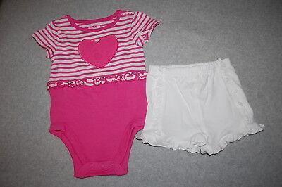 ML baby pink slitweaved tee bodysuit