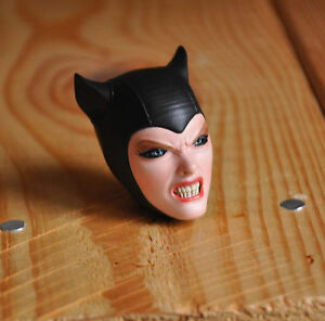 Sideshow-Catwoman-Batman-1-6-DC-Comics-ANGRY-HEAD-ONLY