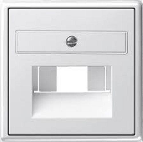 Plaque centrale pour UAE/IAE conn. GIRA Système 55 blanc pur brillant Type