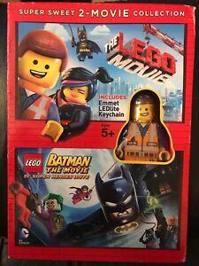 The Lego Movie Lego Batman The Movie Dvd 2015 2 Disc Set 883929445578 Ebay