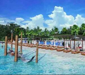 Departamento, terraza con jacuzzi privado, vista a la alberca, club de playa, amenidades de hotel...