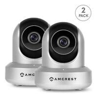 Amcrest IPM-721S Wi-Fi Wireless IP Security Surveillance Camera (Silver)