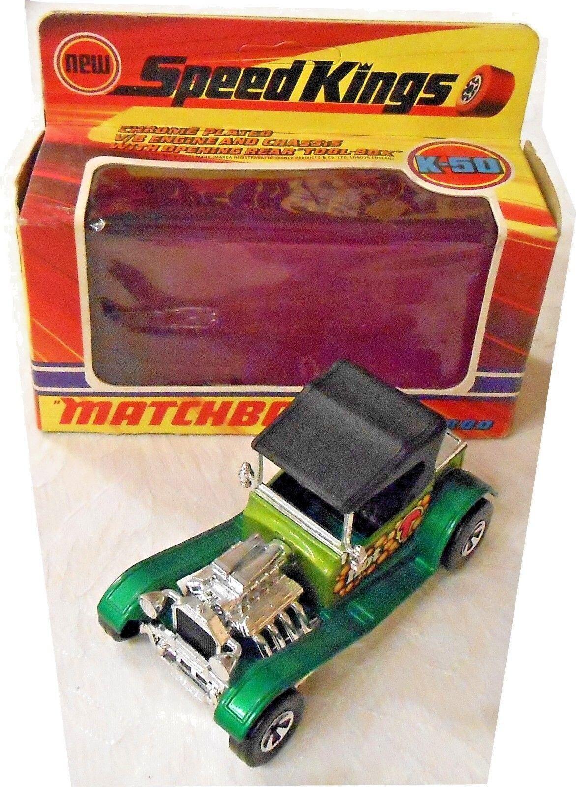 Matchbox Speed Kings K-50 Street Rod, ca 1 40, mb