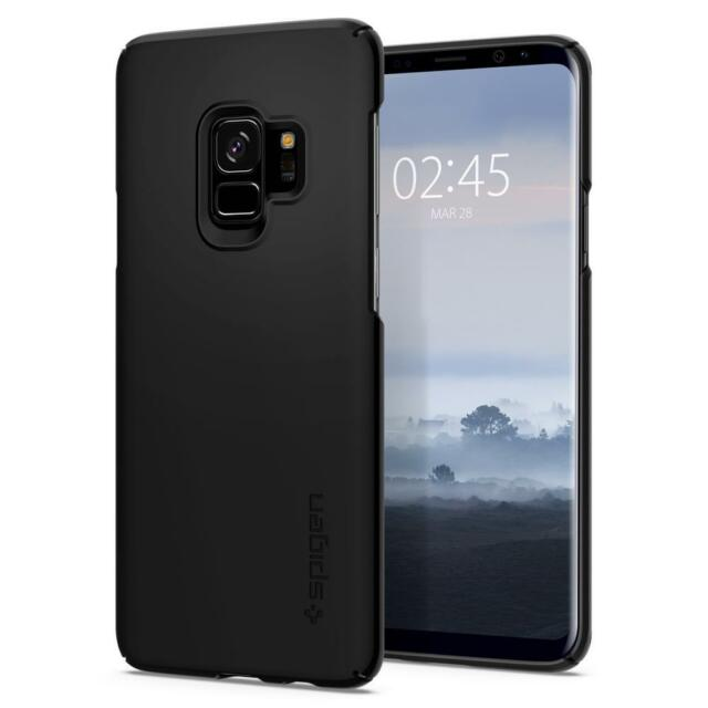 best loved 5f2de bf812 Spigen Thin Fit Case for Samsung Galaxy S9 - Black