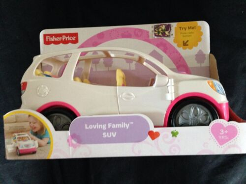 Loving Family white SUV for 6, has Baby Seats, radio Sounds, Doors open! NIB!