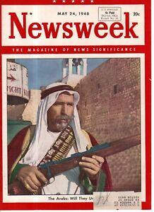 1948-Newsweek-May-24-Eva-Peron-Nobel-Prize-D-L-Moody-Mormons-Palestine