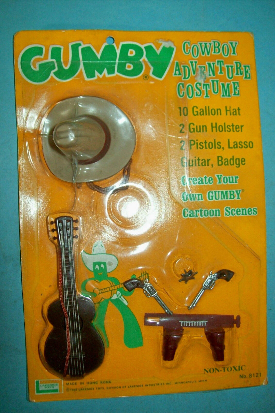 1965 Gumby Cowboy Adventure Costume Costume Costume Set by Lakeside   Unused MOC   Free Shipping 1c8c91