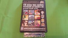 CD  LES CODES EXCLUSIFS DE GTA VICE CITY / PS2 PLAYSTATION 2 SONY PAL EN BOITE