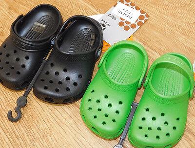 BNWT Kids' Classic Crocs 100% genuine 2 sizes 2 colours fantastic quality