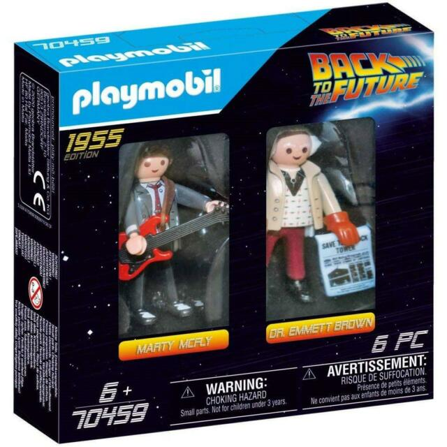 Back to the Future Marty McFly and Dr. Emmett Brown Playmobil 70459