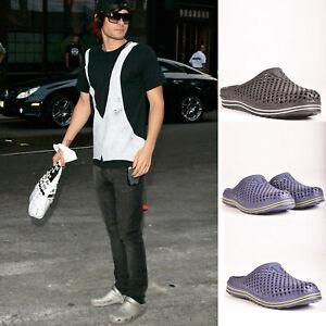 Mens-Summer-Slip-On-Beach-Summer-Holiday-Clogs-Sandal-Flip-Flop-Shoes-Size-6-12