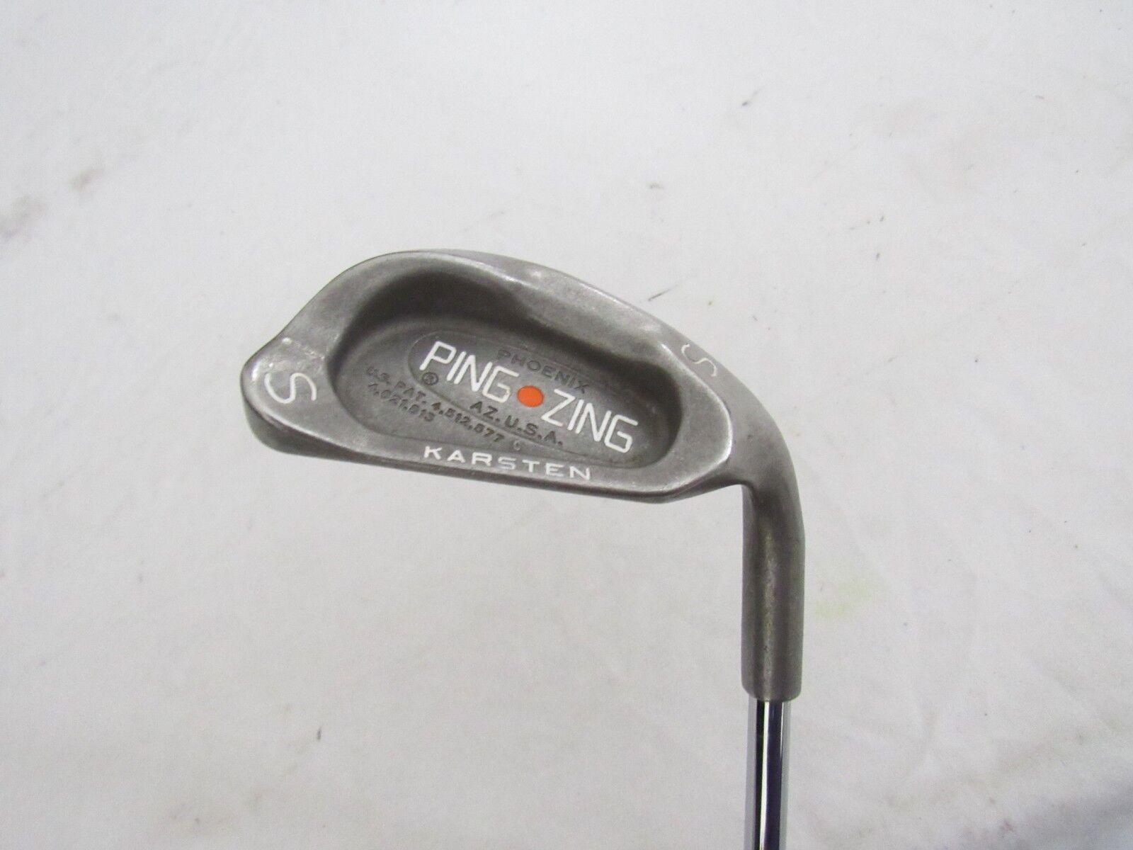 Ping Zing (Naranja DOT)  SINGLE único tejido Cuña De Arena-jz rígido (s) de acero flexible utilizado mano derecha  auténtico