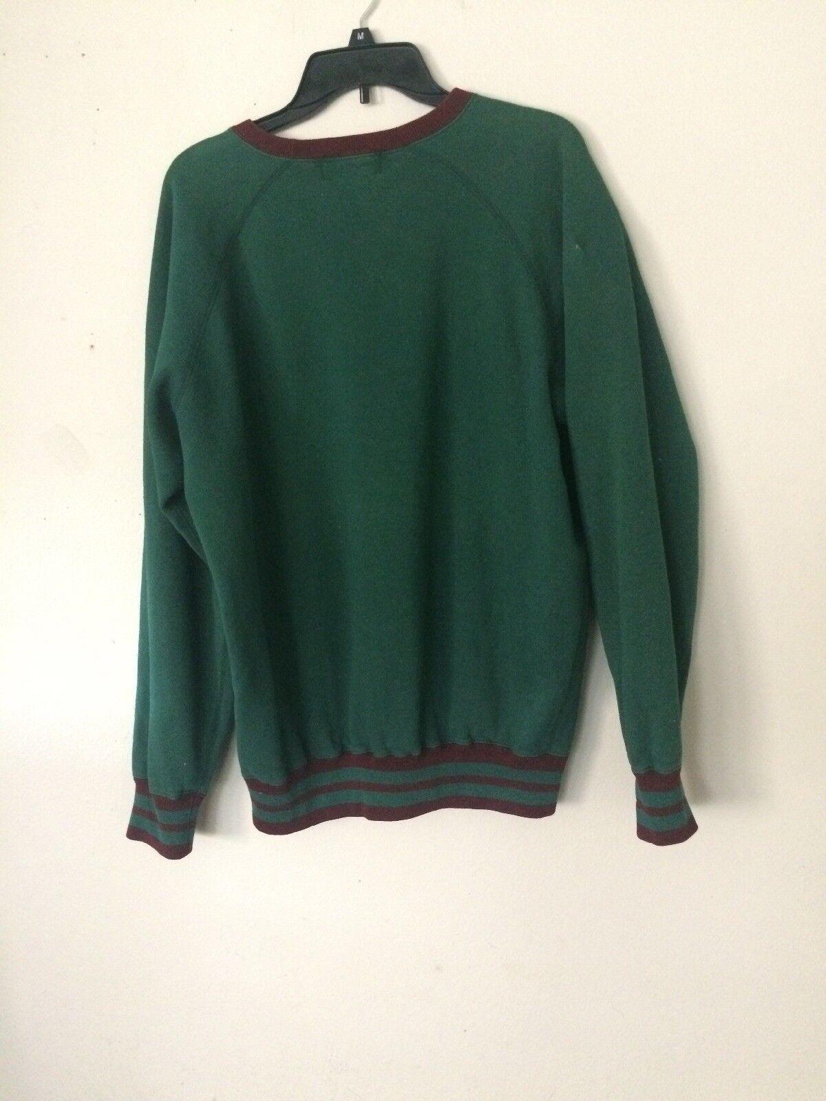 Vtg 80s 90s Polo Ralph Lauren RLPC Green Sweatshi… - image 4