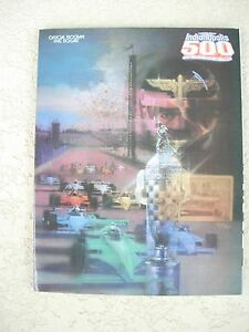 1988-Indianapolis-Indy-500-Race-Program-72nd-Running-Unser-Foyt-Andretti-Rahal