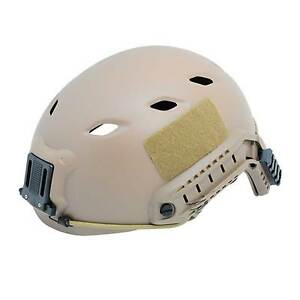 Outdoor-Sport-Tactical-FAST-Base-Jump-Airsoft-Paintball-Brown-Helmet-M284