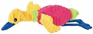 UNSTUFFED-COLOURFULL-NON-SOUND-PLUSH-DOG-PUPPY-DUCK-TOY-BY-TRIXIE-35867-GIFT-NEW