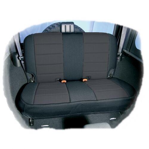 Jeep Wrangler TJ fundas para asientos funda del asiento protector asientos asiento trasero neopreno negro 03-06