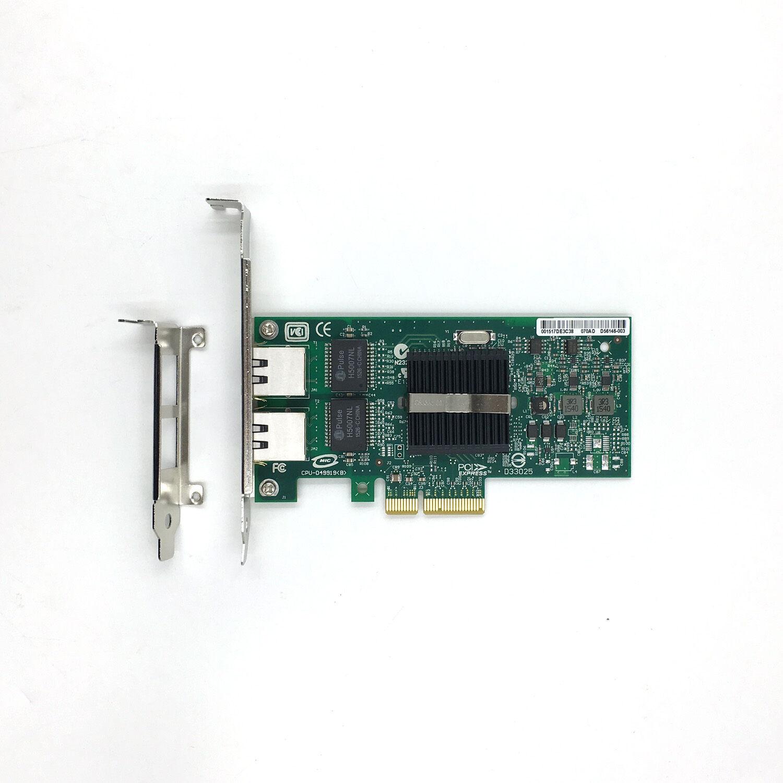 Intel expi9402pt 82571 pro/1000 Dual Port Server Adapter nc360t Network Card