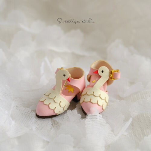 """【Tii】1//6 12/"""" Blythe Pullip doll shoes swans azone cherryB mmk clothes outfit"""
