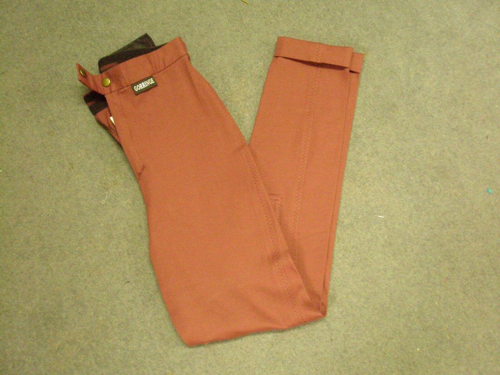 Gorringe Damas Borgoña  Pantalones Talla 26   Centro comercial profesional integrado en línea.