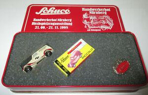 Schuco-Piccolo-77278-MB-Mercedes-170-V-Handwerkerhof-Nuremberg-Neuf-Emballage
