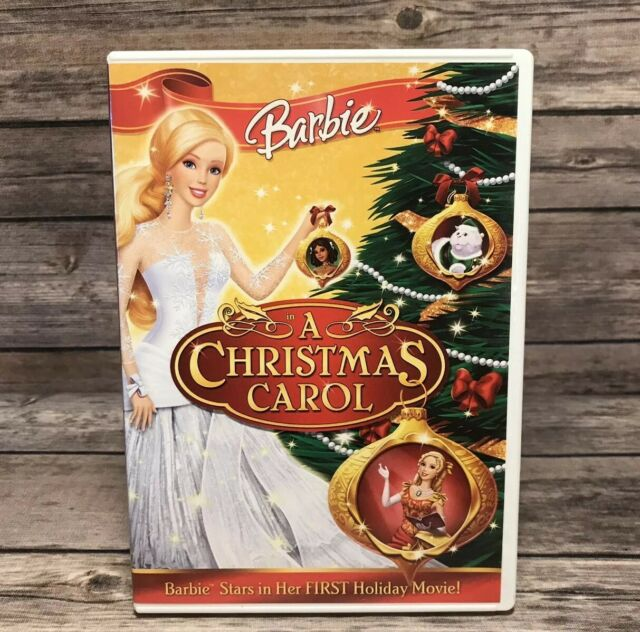 Barbie in a Christmas Carol (DVD, 2008) Holiday Movie Widescreen Mint Disc | eBay