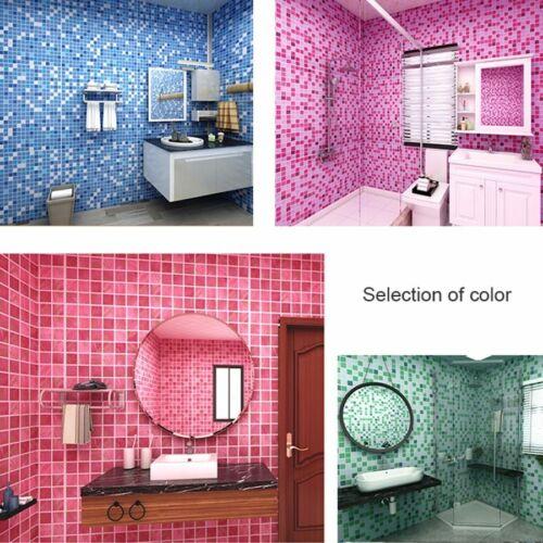 Pvc Waterproof Self Adhesive Wallpaper Kitchen Oil-proof Bathroom Wall Sticker